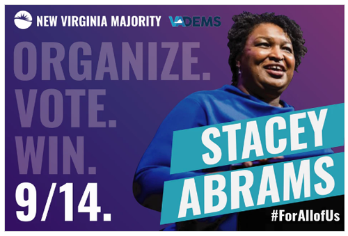 poster: Stacy Abrams