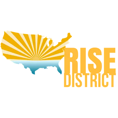 logo rise district